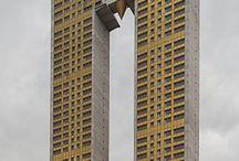 brutalist arch