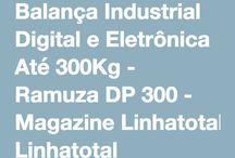 Balanças Industriais / Balanças Industriais para Cozinhas Industriais e centrais de produção de alimentos