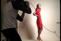 Campaign shoot – behind the scenes (High Summer & Pre Autumn collection)