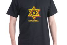 Jewish Themed Father's Day Shirts and Onesies / These Father's Day Abba (Hebrew For Dad) shirts and onesies are unique gifts for Father's Day or any day you want a gift for Daddy. Available in many styles, sizes and colors, all these shirts and onesies come with a 30 day money back guarantee.