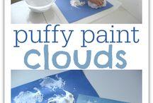 Cloud lesson/crafts / by Terri Prestwich