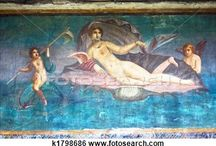 Greek Roman Frescoes Wall Paintings / From ancient times, there are a variety of wall paintings which survive in Italy and Greece. We love to look at how paintings have always been an important part of home and civic decor.