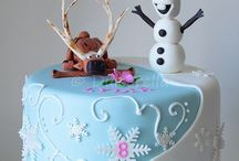 christmas and winter cakes