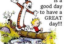 Calvin & Hobbes' wisdom |