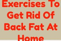 Exercise back fat