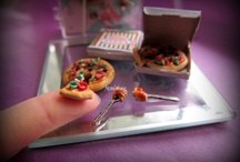 Miniature Food - Polymer Clay  / Hand-crafted Polymer clay miniature food!