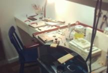 Minhas Joias / Bagunça criativa... workbench