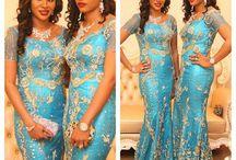 Africain Bridesmaids Dress