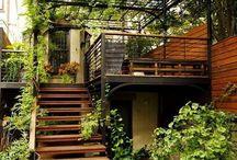 Varandas e Jardins / Local dedicado aos ambientes externos, sempre com muito charme e boa ideias.