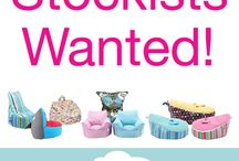 Stockists Wanted! / Mini Beanz Bean Bags are looking for stockists Australia wide! Are you interested? Send an enquiry to minibeanz@outlook.com