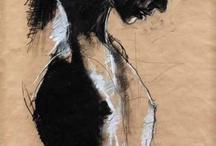 Artsy portrait