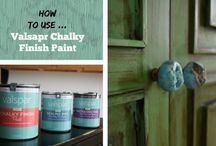 Painted furniture valspar