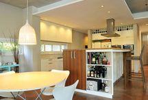 Cocina / Kitchen / Cocinas de casas de Argentina. Diseños de variados estilos. Inspirate, conocé estudios de arquitectos y contactalos a través de nuestra web. www.portaldearquitectos.com