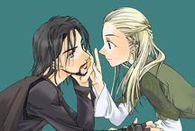Aragorn x Legolas (Aralas)