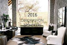 2016 Ev Dekorasyon Trendleri / 2016 Ev Dekorasyon Trendleri http://www.dekordiyon.com/2016-ev-dekorasyon-trendleri/ #EvDekorasyonTrendleri