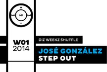 diz weekz shuffle 2014 / Every week of the year has a song that hit me one way or another. This board is a collection for the year 2014.  You can find the playlist here: http://open.spotify.com/user/dizizsander/playlist/5auVLwTdpau1dYXPoB7Att