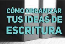 cómo organizar las ideas de escritura