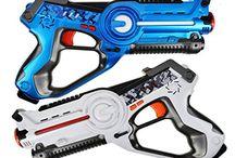 Лазертаг Маленькая пушка