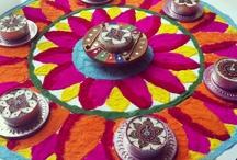 Diwali..Diyas..Rangoli..