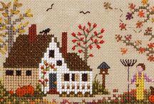 Fall / Halloween cross stitch