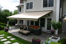 Retractable Awnings / Awnings Add Shade & Style To Your Home! Over patios, decks, windows & doors, retractable awnings add shade & comfort, but also lend a charming old-world feel to your home. Add Outdoor Living Space Without Expensive Remodeling. Awnings offer excellent protection from the sun and extend your living space - without the cost of a permanent addition. Want a free quote today? Head over to ww2.azsunblock.com