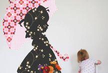 meidenkamer / leuke ideeën voor de kinderkamer