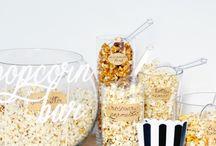 Popcorn Bar ideas!