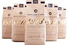 Coffee packaging / Упаковка кофе
