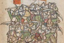 Iluminace / Manuscript miniatures 1355 - 1400