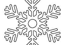 kar tanesi motifleri