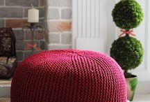 Accesorios hogar tejidos
