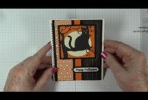 Stampin' Up! Happy  Halloween Cards
