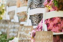 Wedding ideas / Ideas for wedding:)