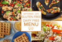 Gluten Free Dairy Free Freezer Menu September 2015 / by Once A Month Meals