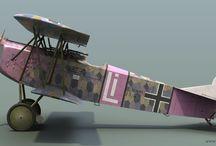 fokker DVII / WW1
