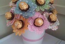 Candy flower arangements