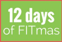 ** 12 Days of FITmas ** / During the holidays, it's really easy to give up on your exercise time. Participate in our 12 Days of FITmas to keep the healthy habits going.