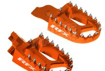 RFX Colour Coded KTM Bike Parts - love a bit of bling! / Colour coded RFX parts for your KTM