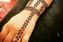 Henna art for kids