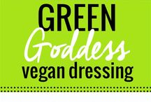 Vegan Dressings & Dips~~
