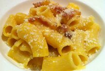Pasta in Rome / All about pasta in Rome - amatriciana, carbonara, gricia and caio e pepe...and more! And...where in Rome to find these pastas made just right!