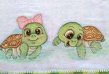 pintura tartaruga