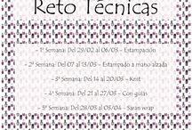 Reto #RompiendoTécnicas / Nail Art,Manicuras