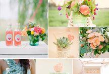 Wedding Colors + Palettes