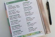 Life Planning/Lists