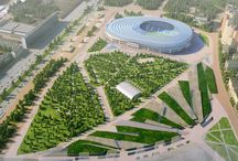 Dinamo / Competition concept of stadium in Moscow, Russia