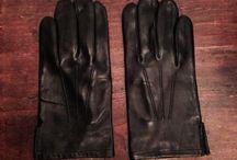 Guanti in pelle neri / guanti in pelle neri guanti sfoderati