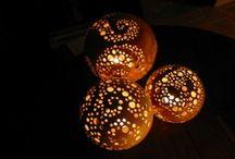 schalen, borden en lichtjes / schalen, borden en lichtjes gemaakt van keramiek