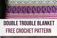 Double Trouble Crochet Blanket