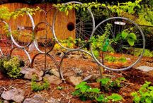 Beautiful gardens / Simplistic enhancing garden bits
